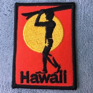 Other - Hawaii letter embroidered clothing patch NEW